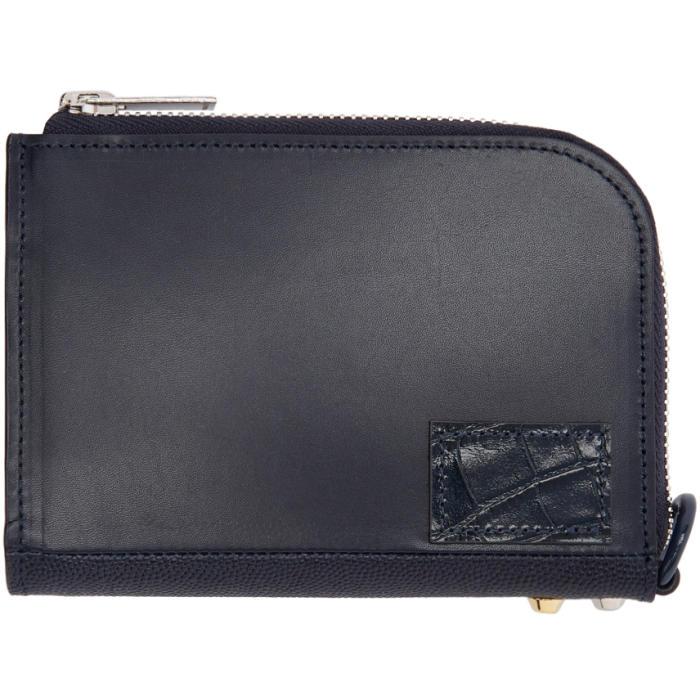 Sacai Navy Zip Wallet