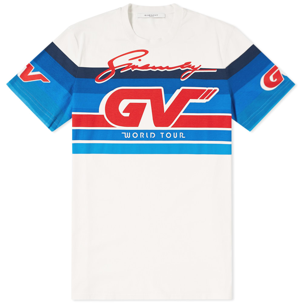 Photo: Givenchy Gradient GV World Tour Tee