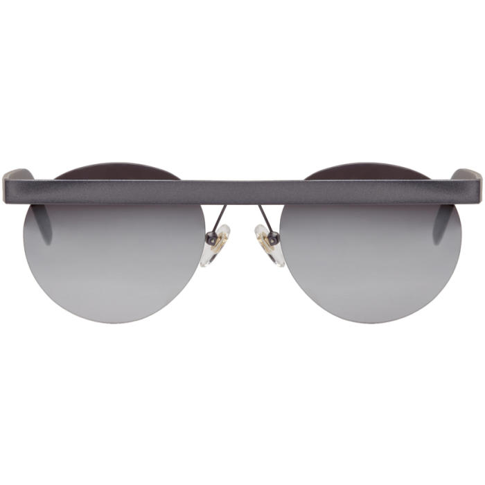 Photo: Han Kjobenhavn Silver Stable Mirror Lenses Sunglasses