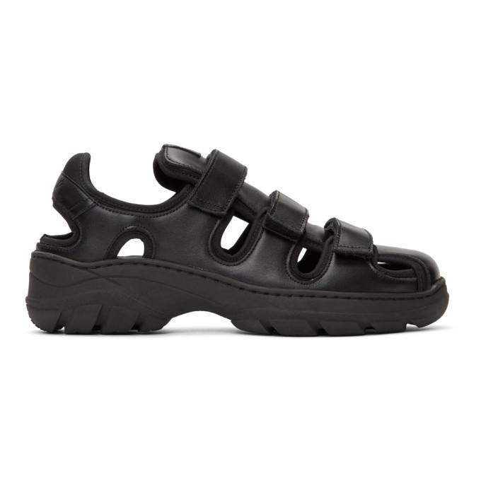 Martine Rose Black Hiking Sandals