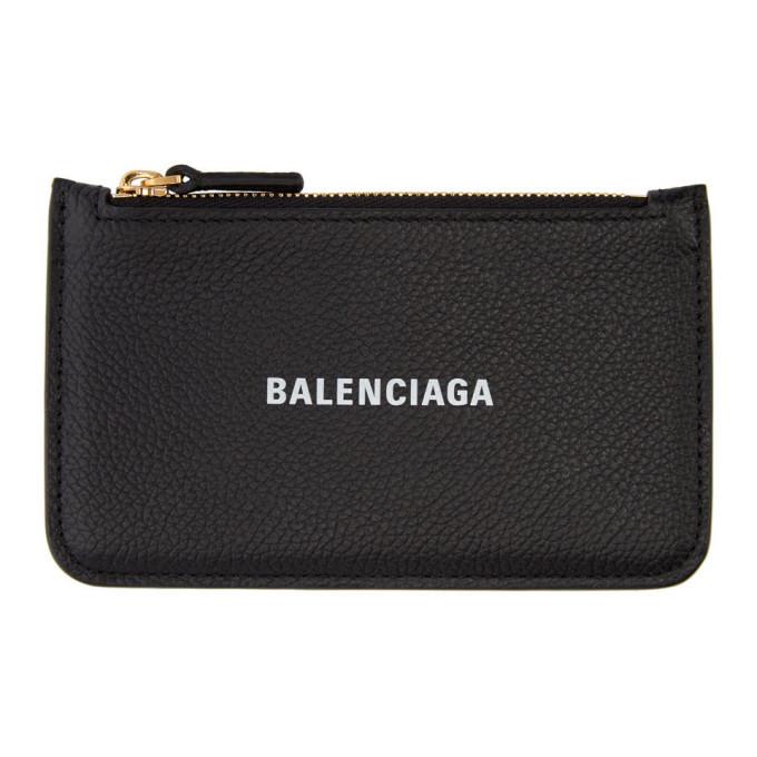 Photo: Balenciaga Black Cash Long Wallet