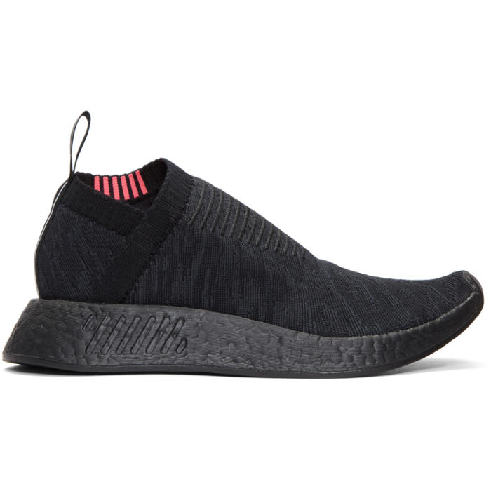 Photo: adidas Originals Black NMD CS2 PK Sneakers