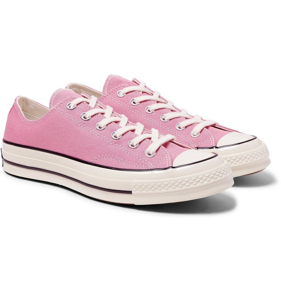 Photo: Converse - Chuck 70 Canvas Sneakers - Pink