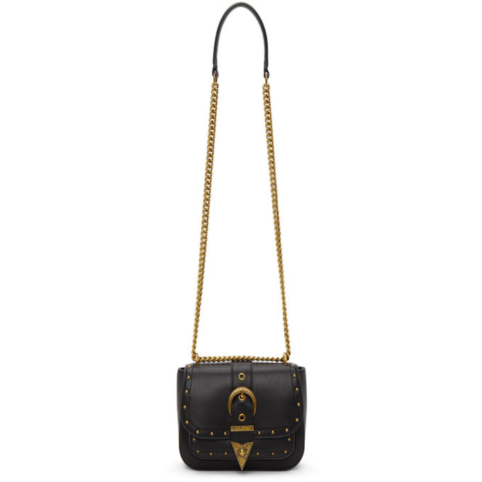 Versace Jeans Couture Black Rodeo Buckle Bag
