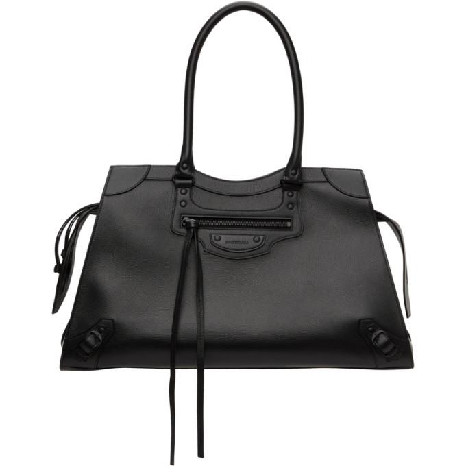 Photo: Balenciaga Black Large Neo Classic Top Handle Bag