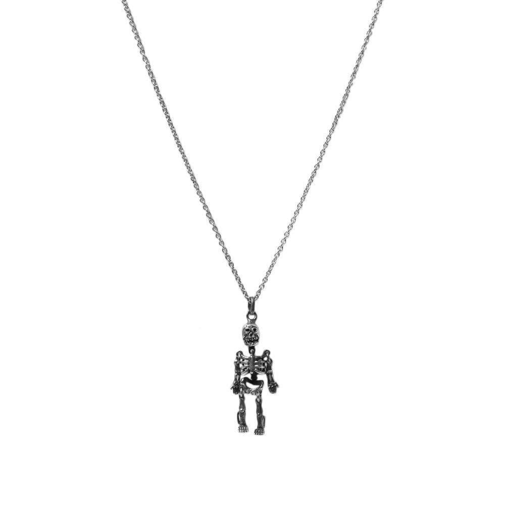 Photo: Saint Laurent Skeleton Necklace