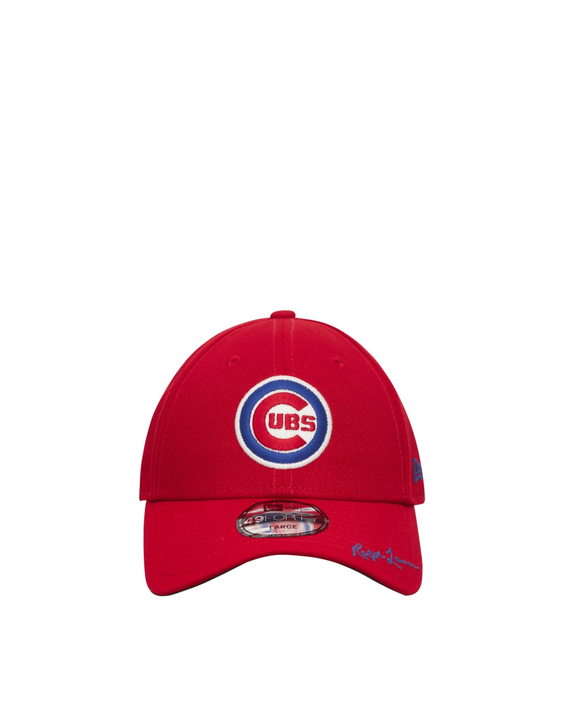 Photo: New Era Polo Ralph Lauren 49forty Chicago Cubs Cap Scarlet