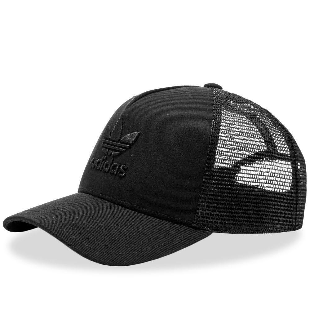 Photo: Adidas Trefoil Trucker Cap Black