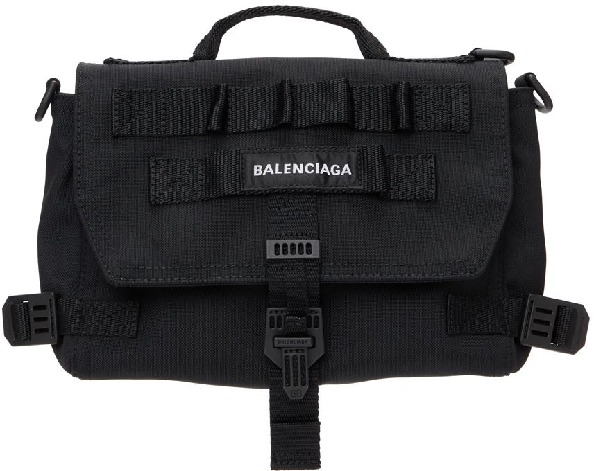 Photo: Balenciaga Black Army Messenger Bag
