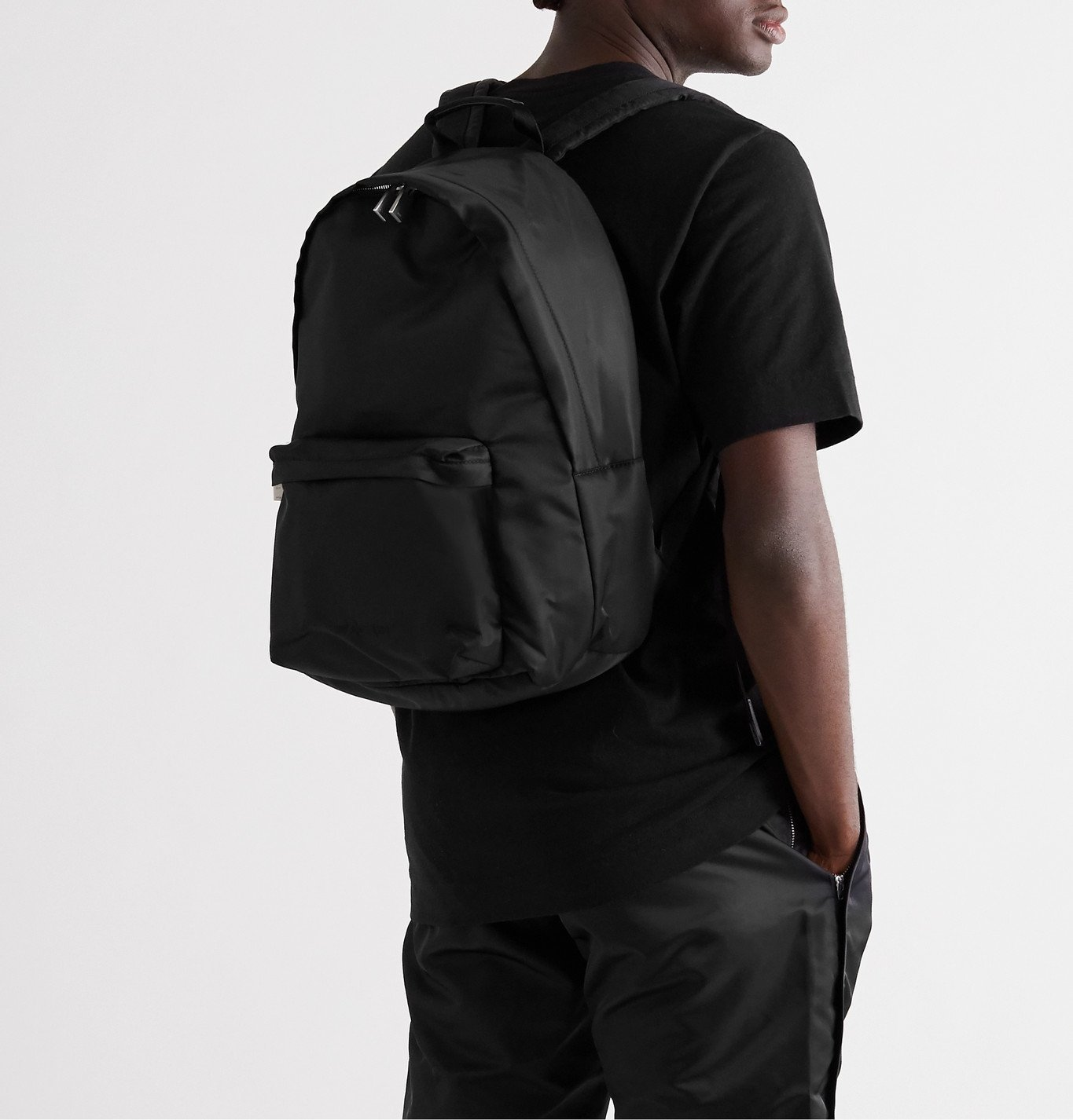 1017 ALYX 9SM - Fuoripista Nylon Backpack - Black