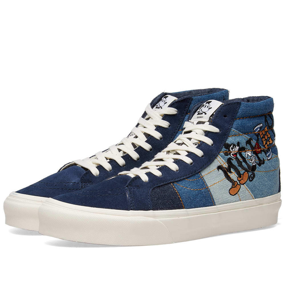 disney x vans sk8-hi shoes