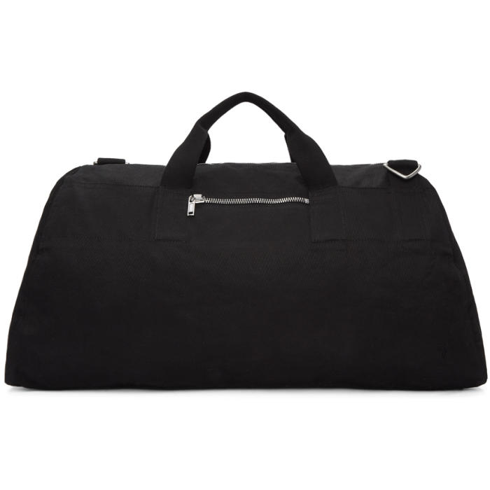 Photo: Rick Owens Drkshdw Black Weekender Duffle Bag