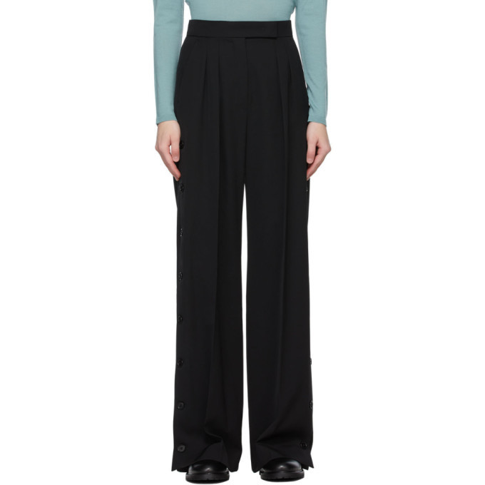 Photo: Max Mara Black Wool Kirsch Trousers