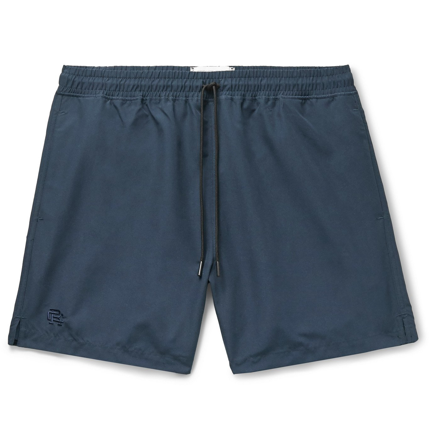 Photo: Reigning Champ - Mid-Length Shell Swim Shorts - Blue