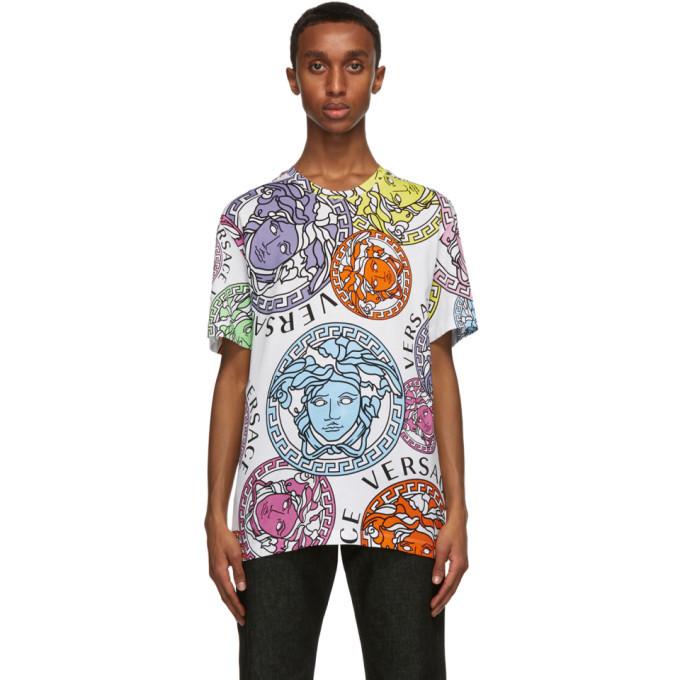 Photo: Versace White Medusa Amplified T-Shirt