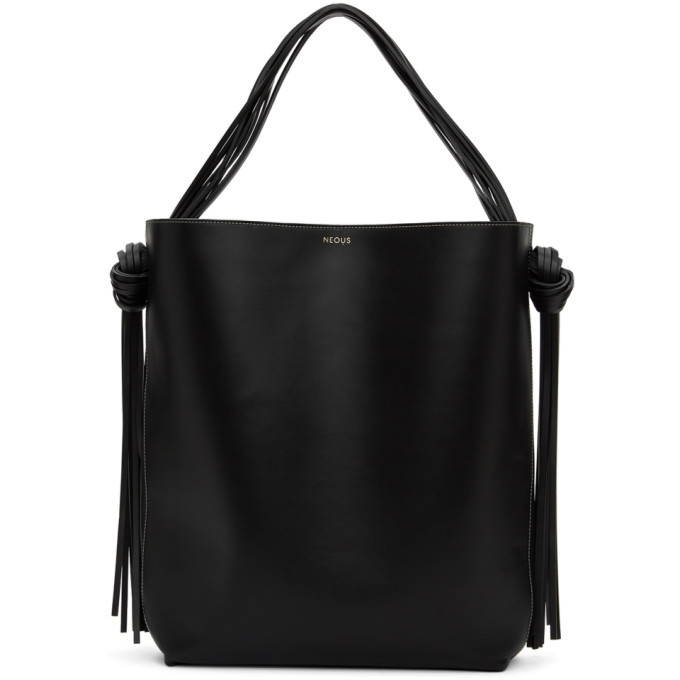Photo: NEOUS Black Oversized Saturn Tote