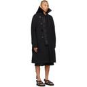 Sacai Black Oxford Coat