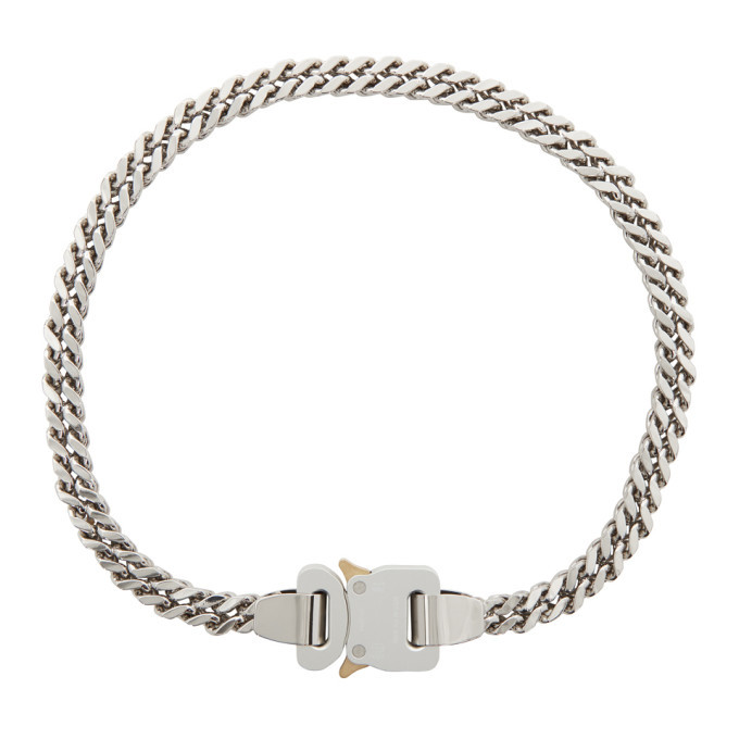 Photo: 1017 ALYX 9SM Silver Cubix Chain Necklace