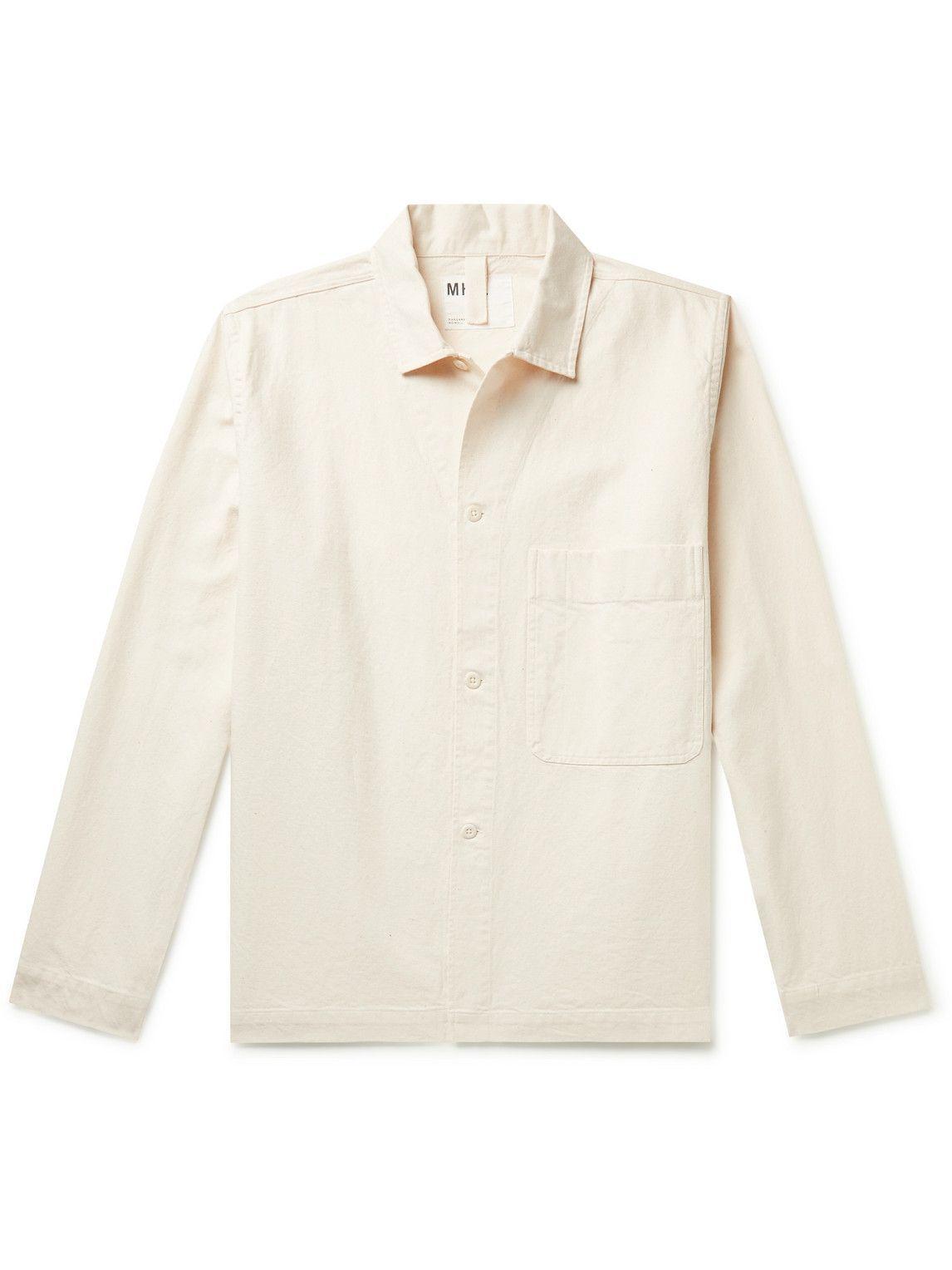Photo: Margaret Howell - MHL Cotton-Twill Overshirt - Neutrals