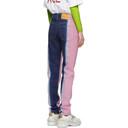 Martine Rose Pink Tie-Dye Jeans