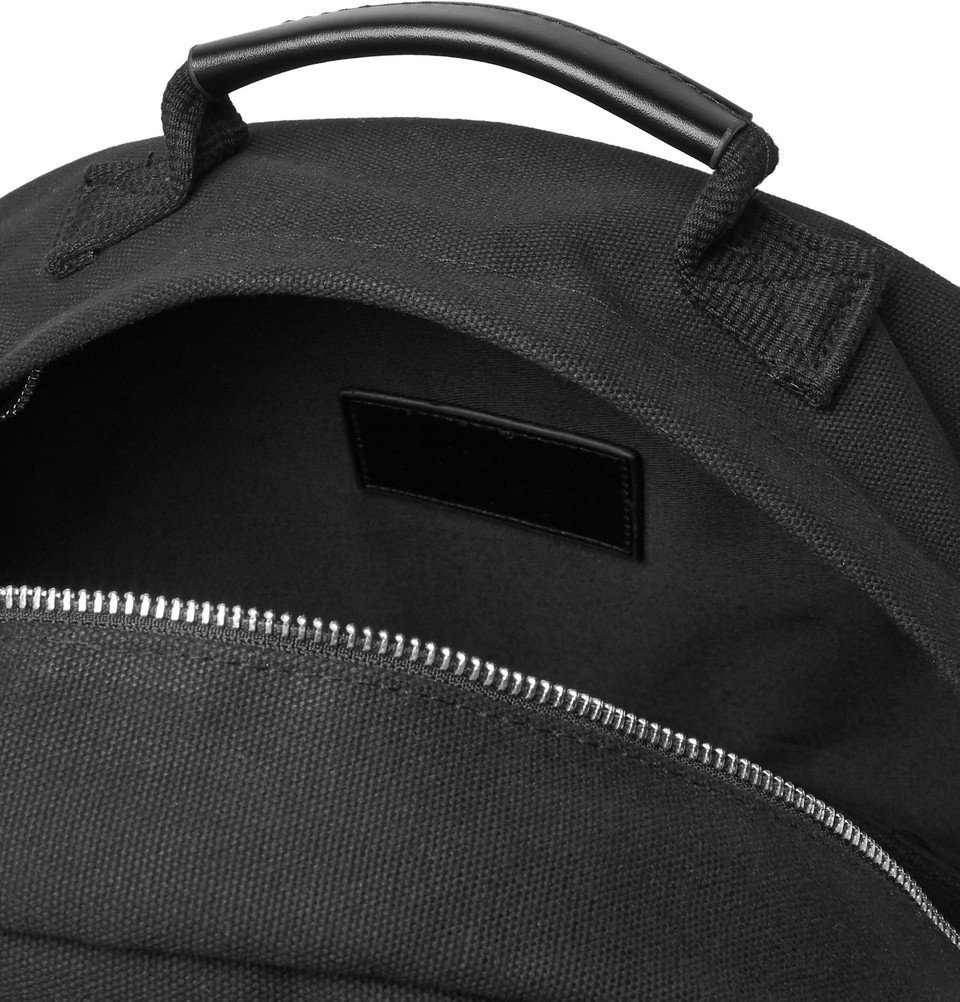 Saturdays NYC - Hannes Cotton-Canvas Backpack - Black
