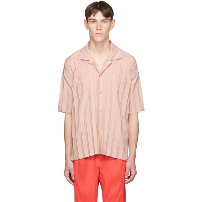 Photo: Homme Plisse Issey Miyake Pink Edge Shirt