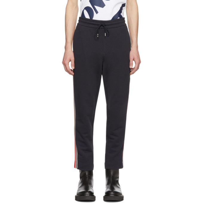 Photo: Moncler Navy Side Panel Lounge Pants