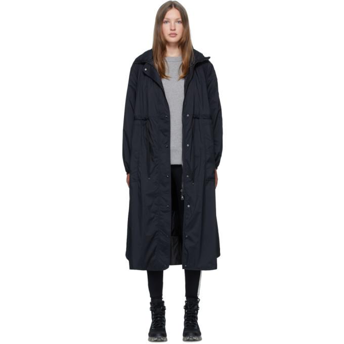 Photo: Moncler Black Down Lin Coat
