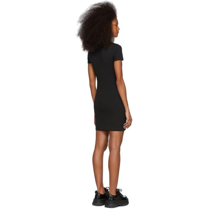 alexanderwang.t Black Compact Jersey Dress