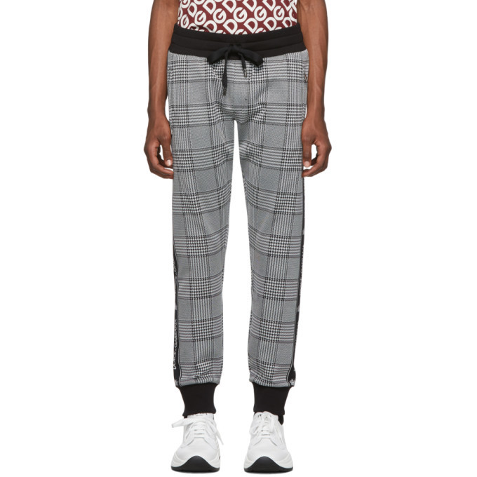 Photo: Dolce and Gabbana Black Rossi-Bordeaux Lounge Pants