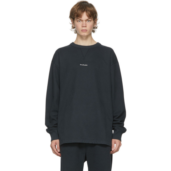 Photo: Acne Studios Black Logo Sweatshirt