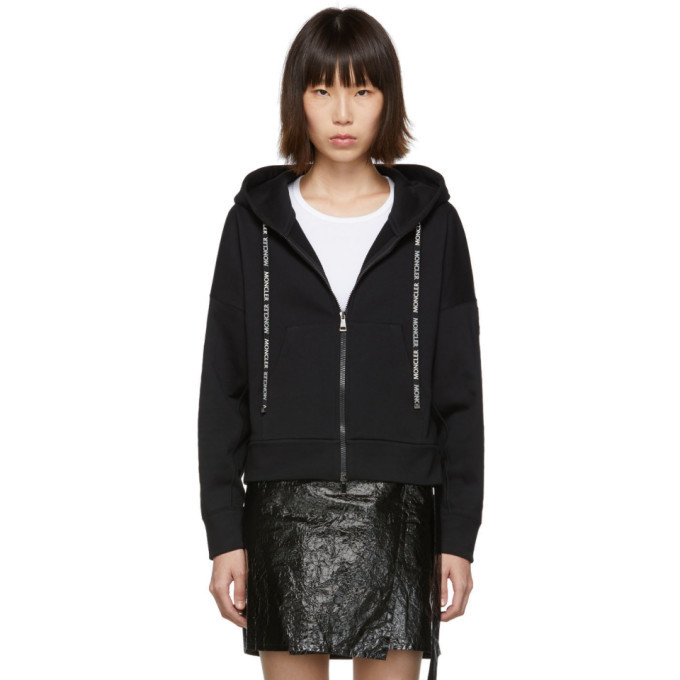 Photo: Moncler Black Zip-Up Sweater