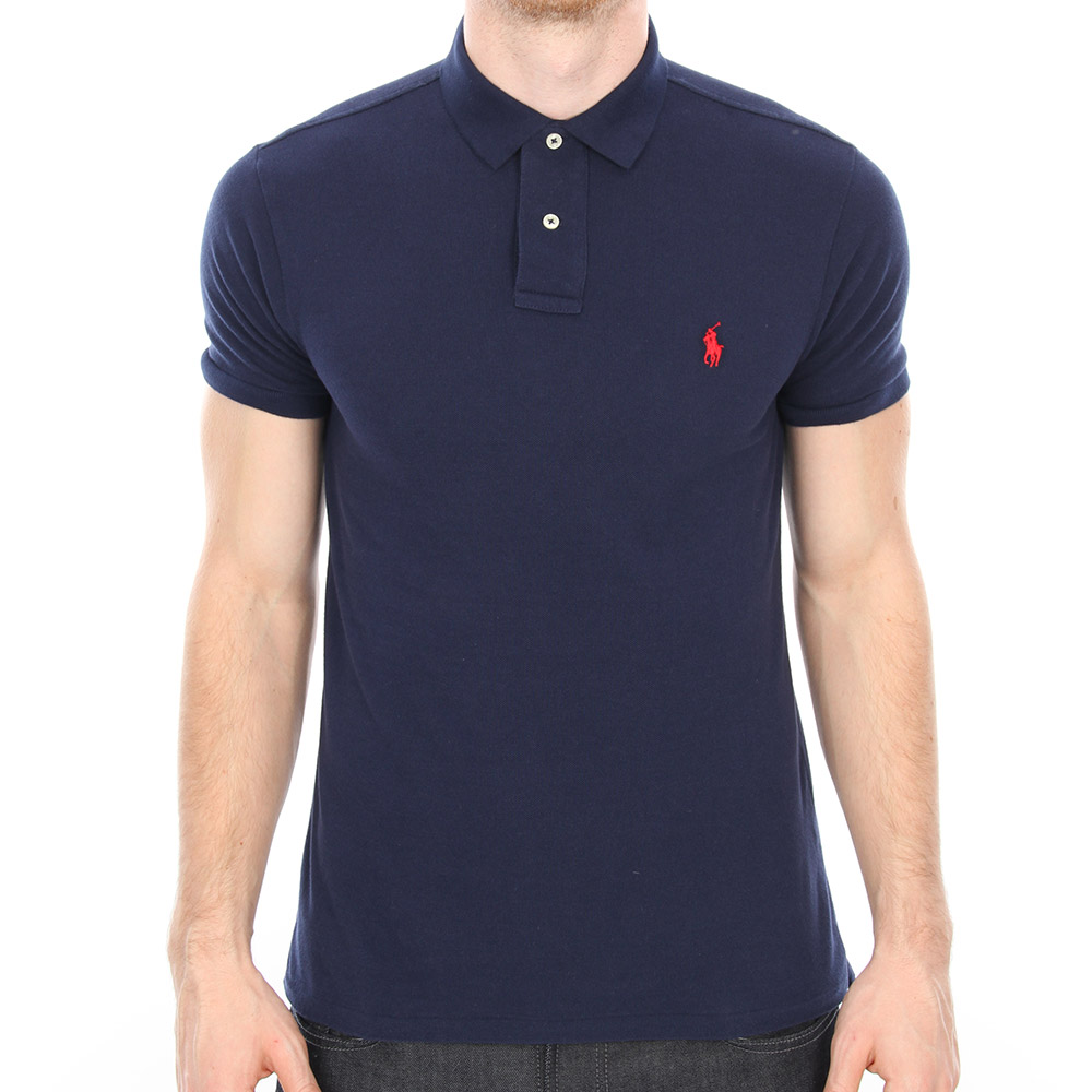Photo: Slim Fit Polo Newport - Navy