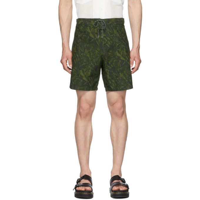 Photo: A.P.C. Green Eli Shorts