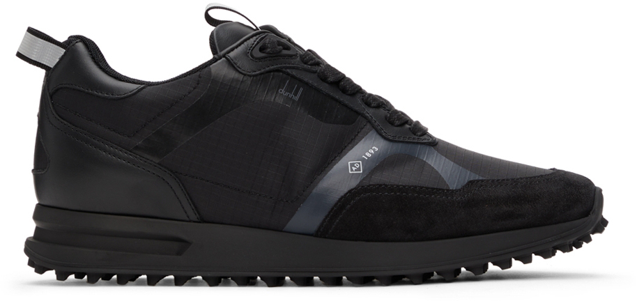 Photo: Dunhill Black Radial 2.0 Sneakers