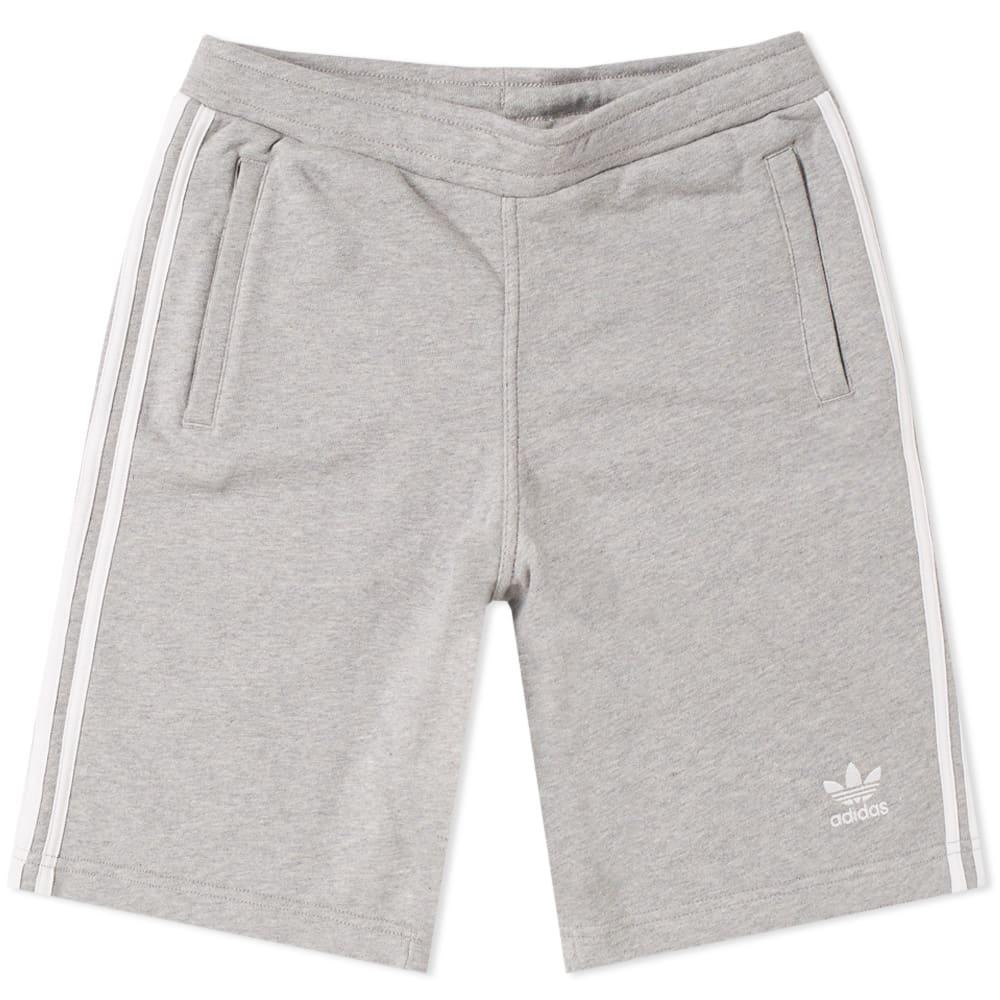 Adidas 3 Stripe Short Grey