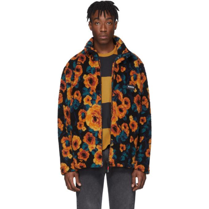 Photo: NAPA by Martine Rose Multicolor Fleece T-Emin Jacket