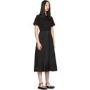 3.1 Phillip Lim Black T-Shirt Dress