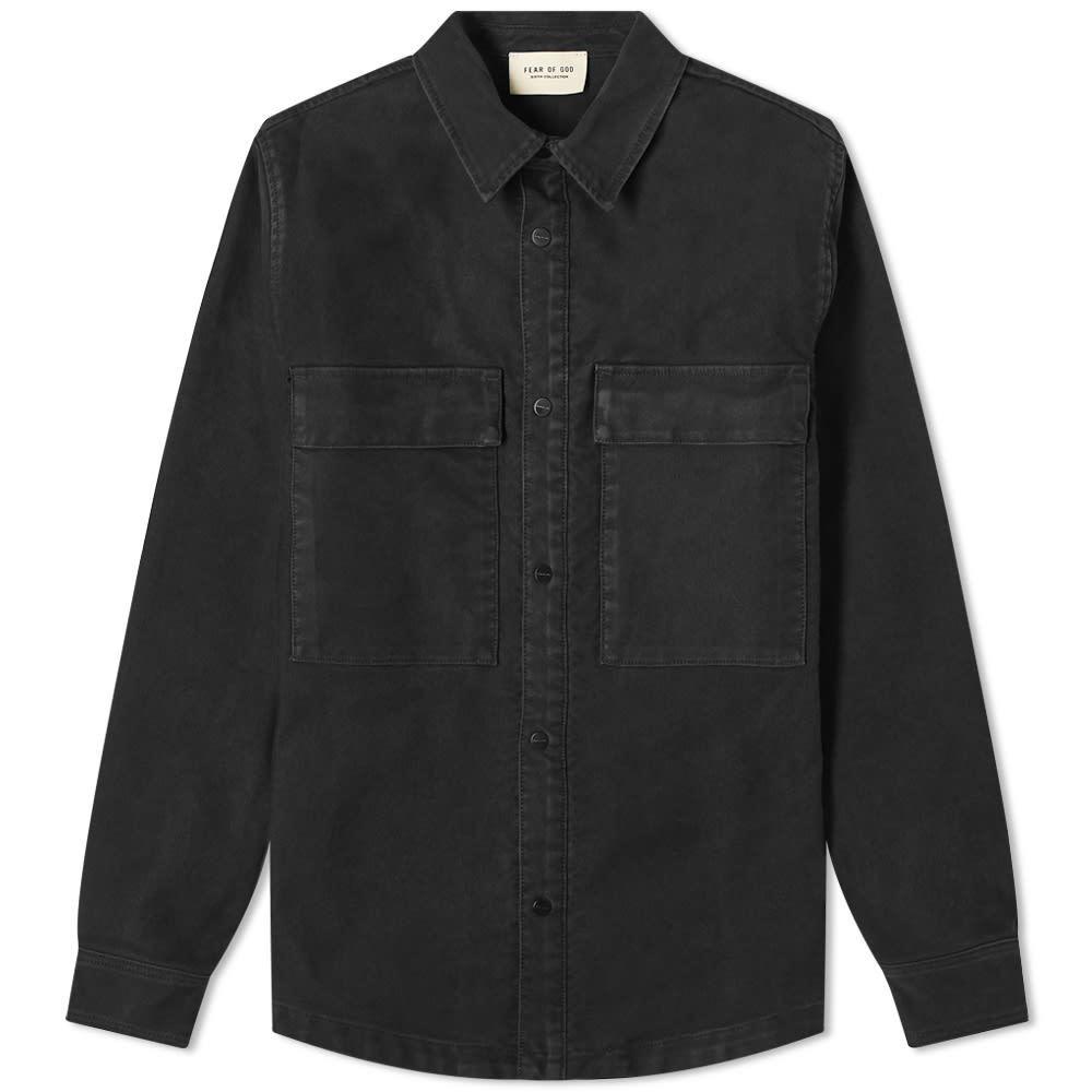 Photo: Fear of God Vintage Cord Shirt Jacket
