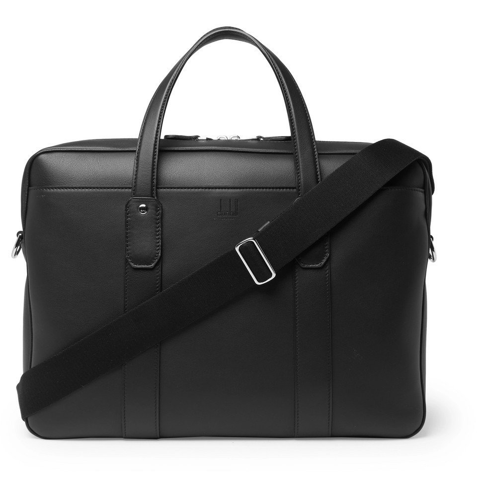 Dunhill - Hampstead Leather Briefcase - Men - Black