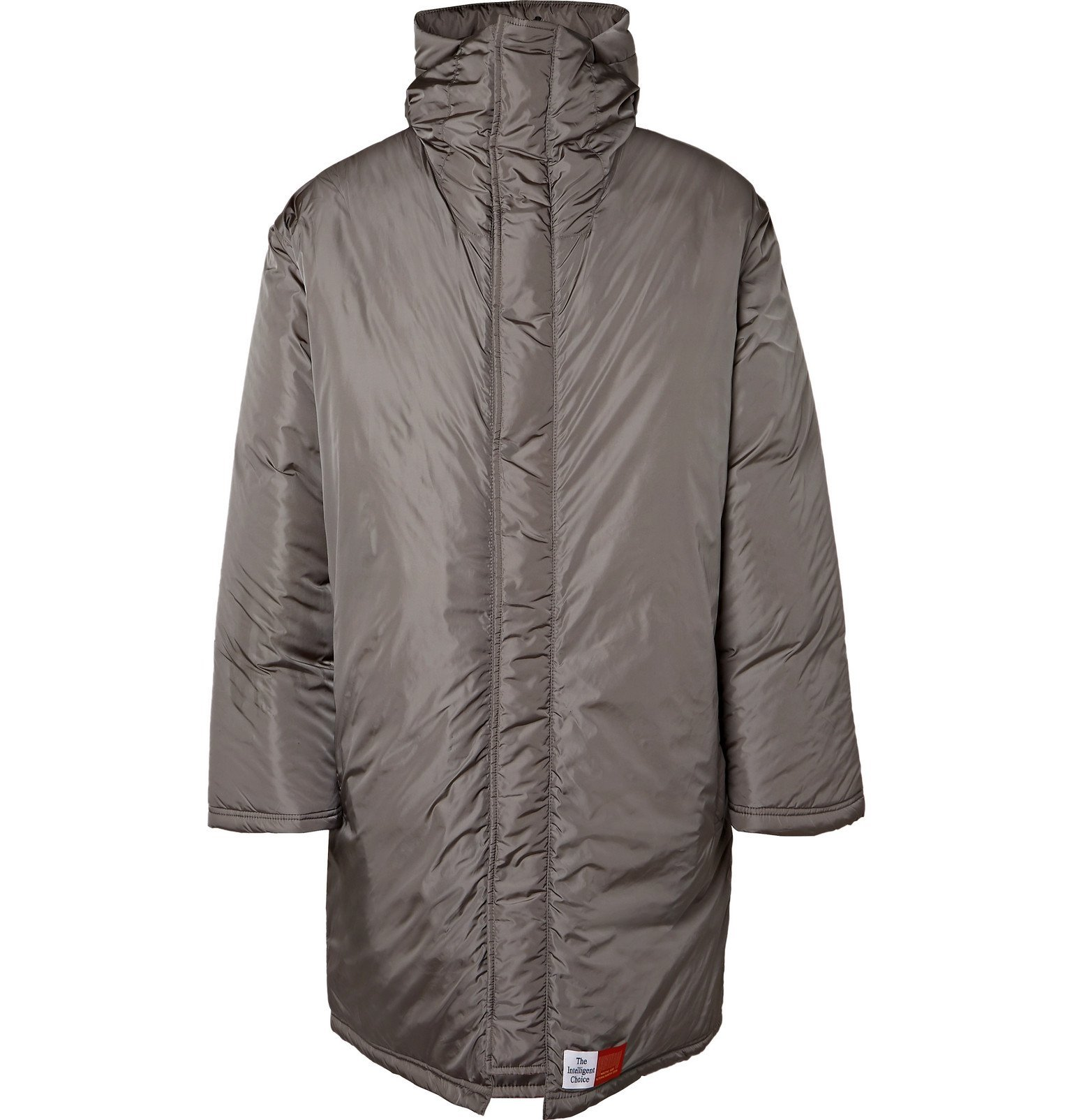 Photo: Martine Rose - The Wenger Oversized Printed Shell Hooded Parka - Gray