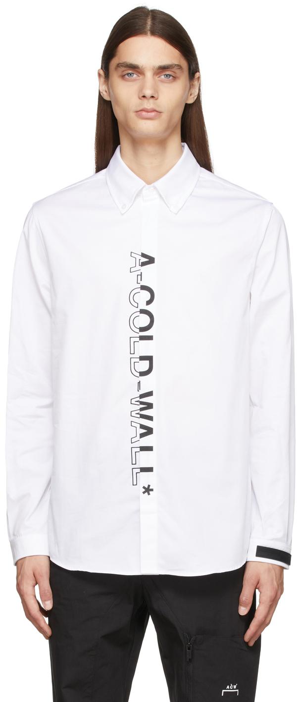 A-COLD-WALL* Essential Logo Oxford Shirt