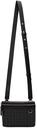 Dunhill Black Signature Camera Messenger Bag
