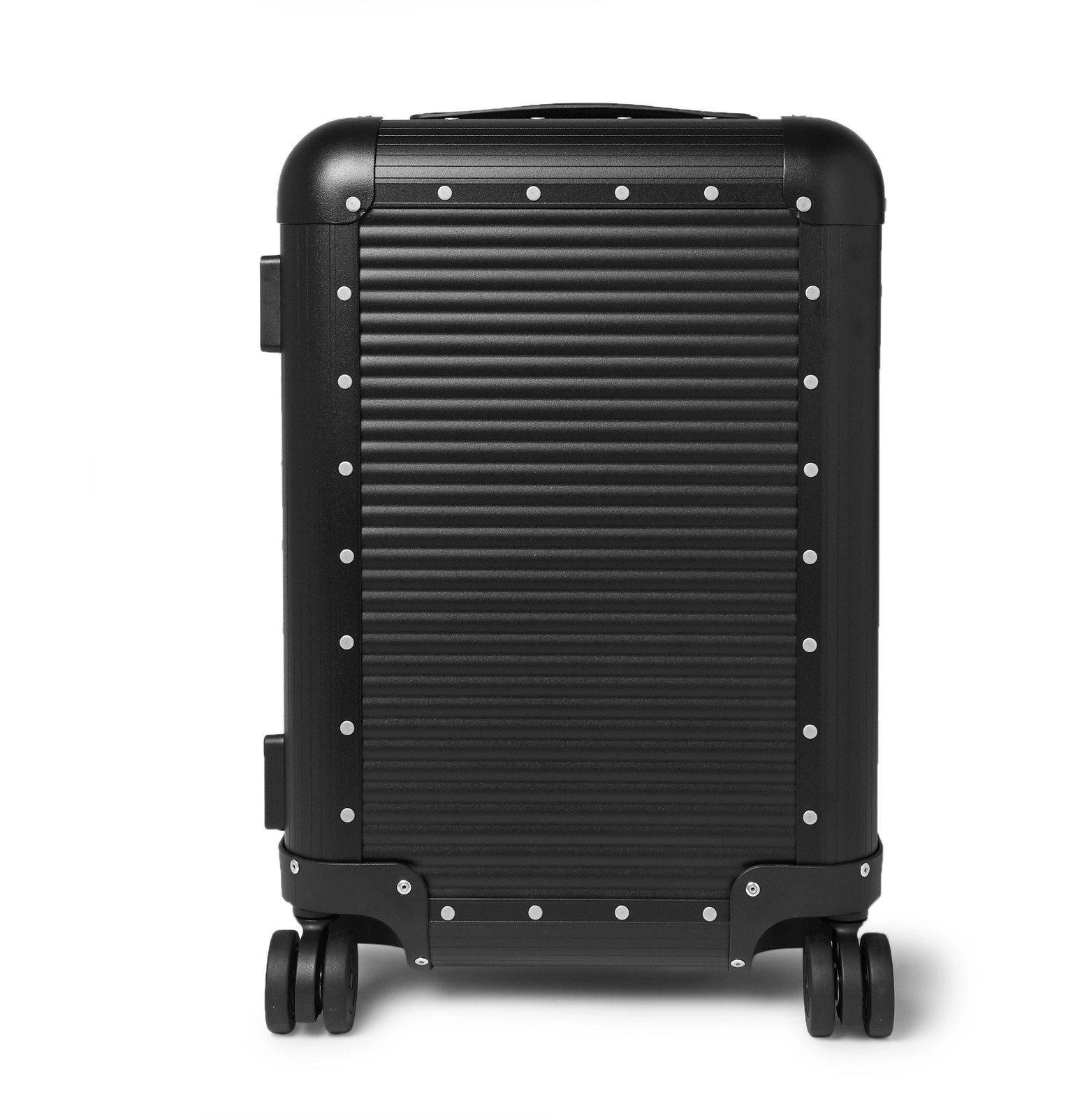 Photo: Fabbrica Pelletterie Milano - Spinner 53cm Aluminium Carry-On Suitcase - Black