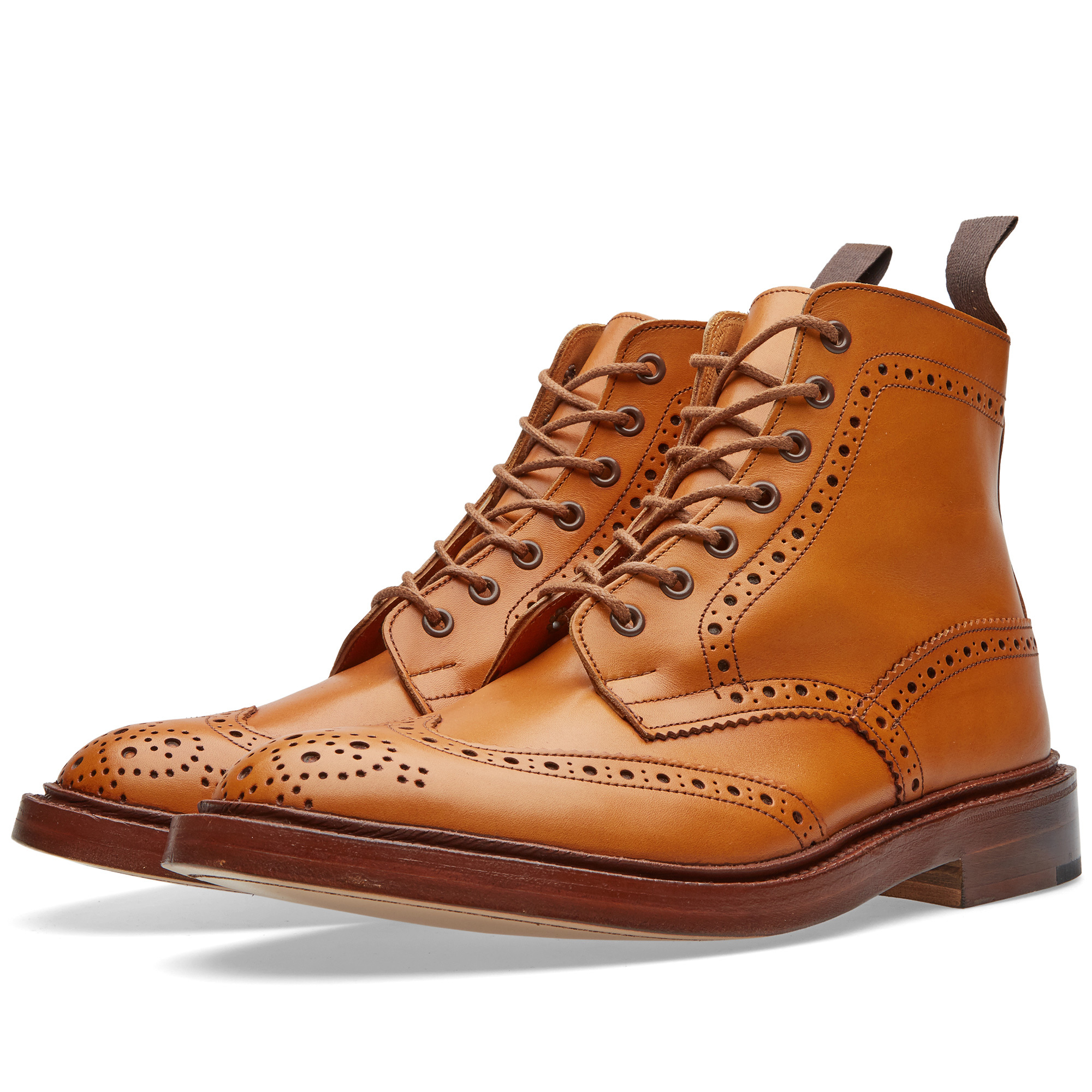 Photo: Tricker's Stow Brogue Derby Boot