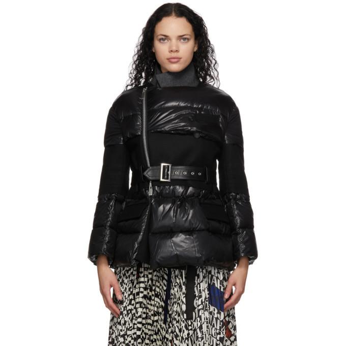 Sacai Black Puffer Jacket