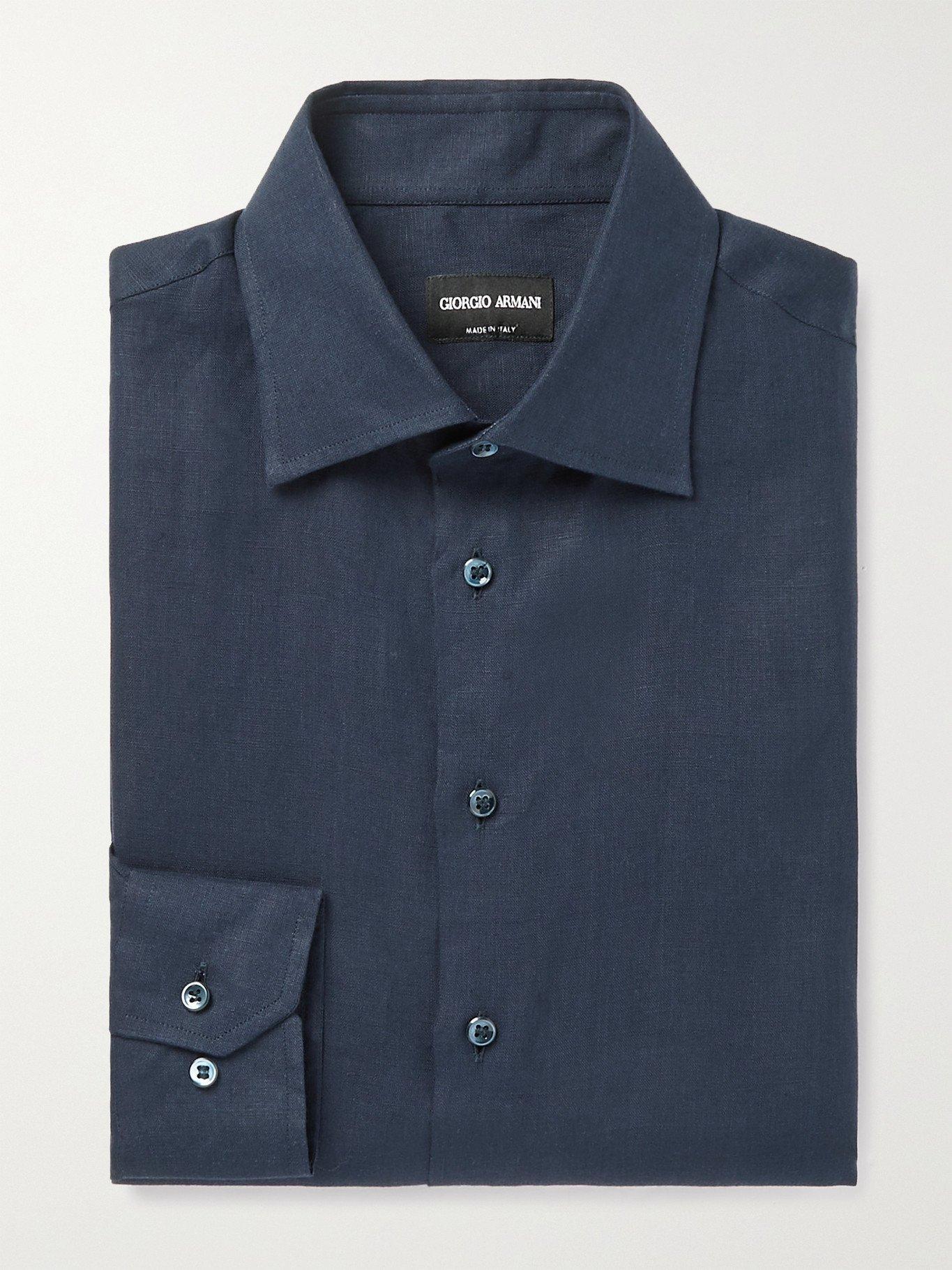 GIORGIO ARMANI - Linen Shirt - Unknown