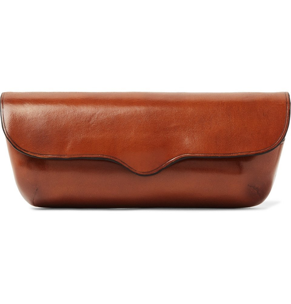 Photo: Il Bussetto - Polished-Leather Glasses Case - Brown