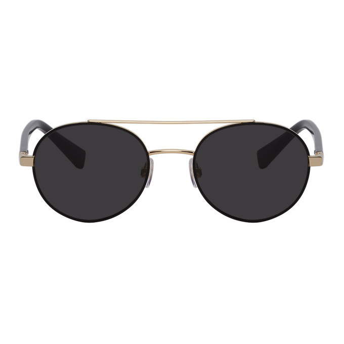 Photo: Dolce and Gabbana Gold Less Is Chic Sunglasses