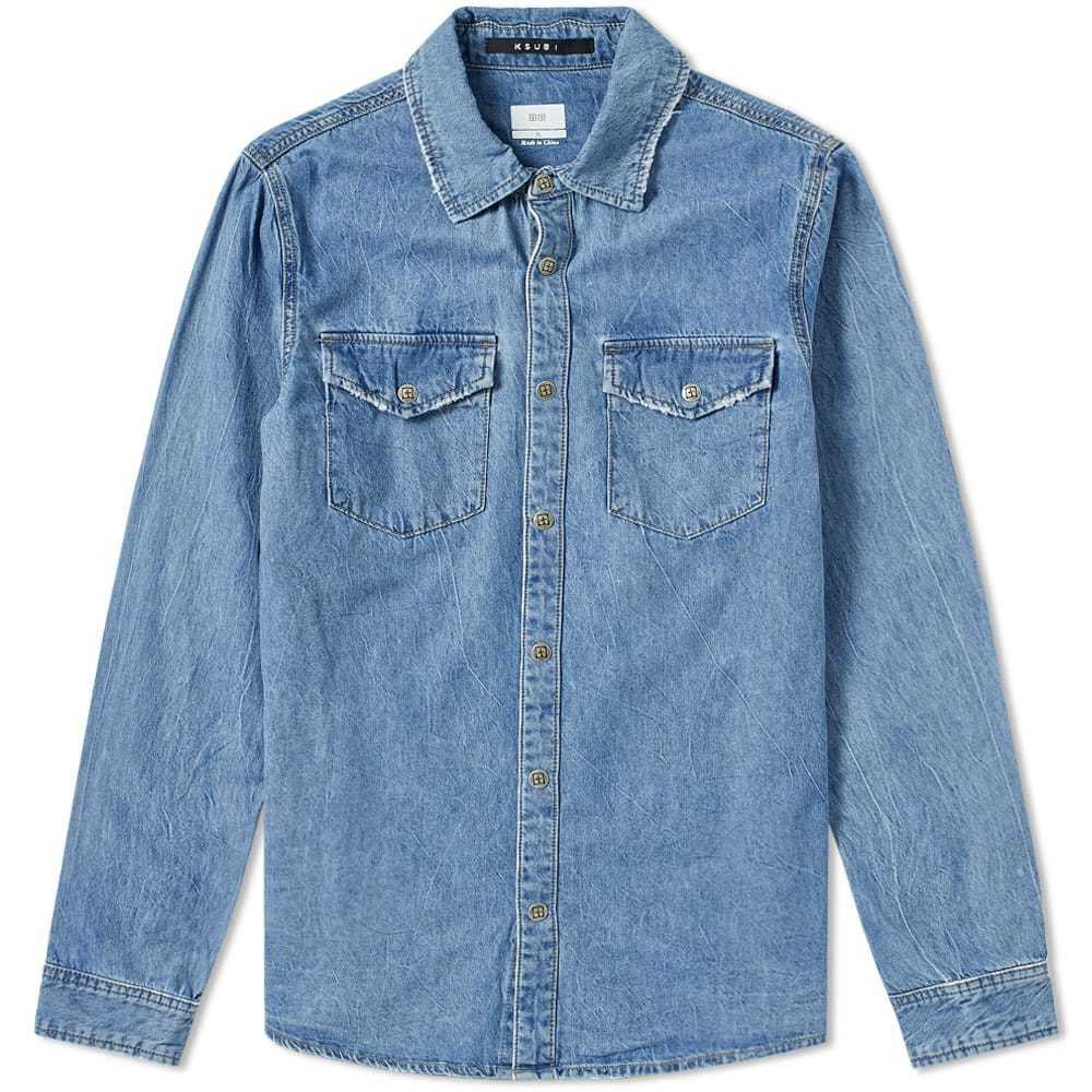 Ksubi De Nimes Archive Blue Shirt Denim